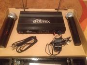Микрофонная система беспроводная Ritmix RWM-221