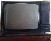 Телевизор Горизонт 61ТЦ-411/Д, СССР80е годы, в хорошем рабочем состоянии